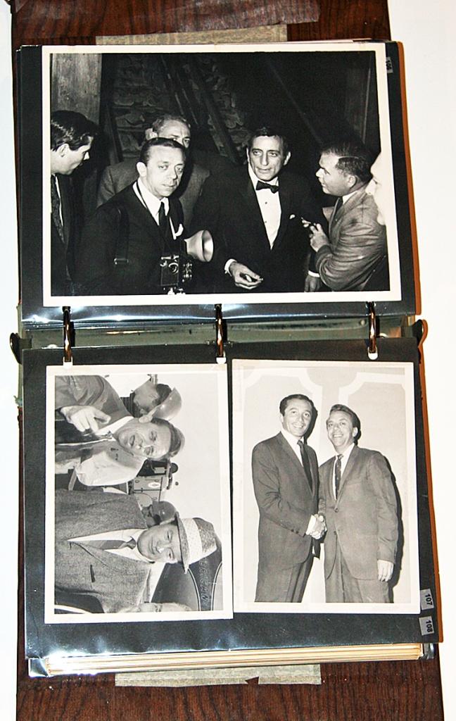Tony Bennett, Bob Hope, Al Martino