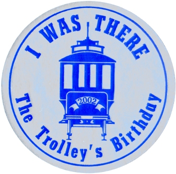 16_04_11 8 Trolley Birthday Sticker