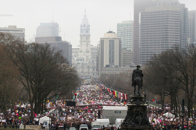 2017 Philadelphia Women's March