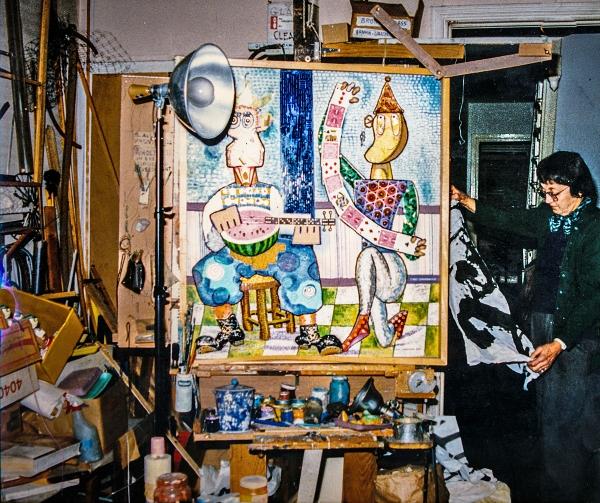 17_03_30 5 Betty Hirshman in Studio